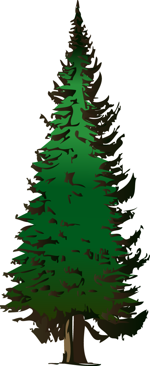 Pine tree clipart free clipart images 5.