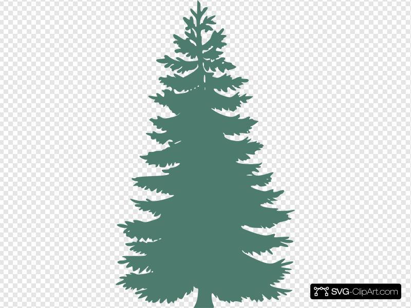 Lightgreen Pine Tree Clip art, Icon and SVG.