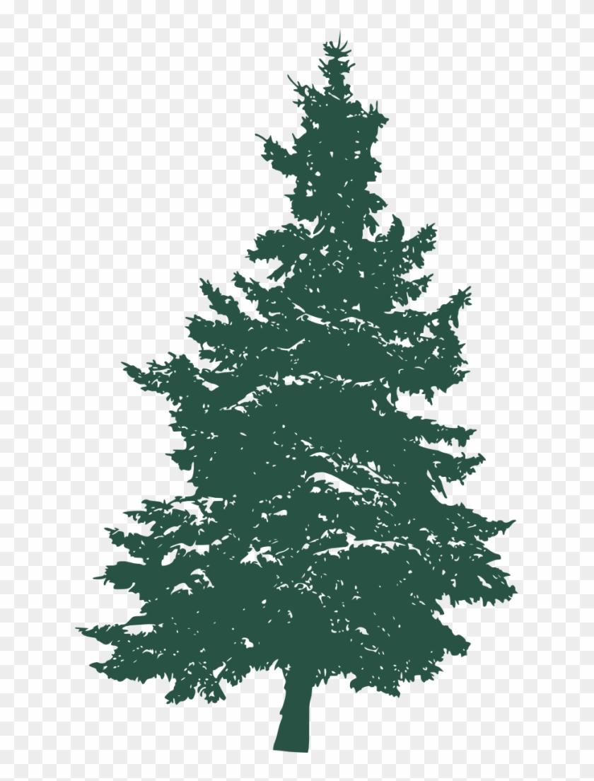 Pine Tree Silhouette 3.