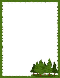 Similiar Pine Tree Black Border Keywords.
