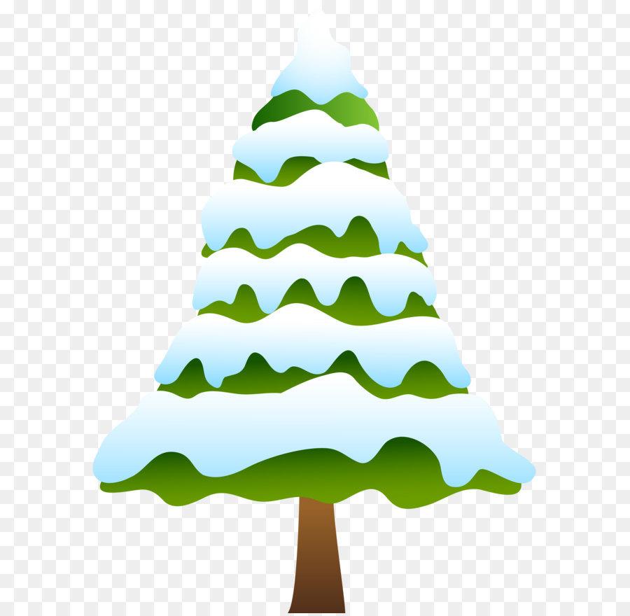 Christmas Tree Snow.