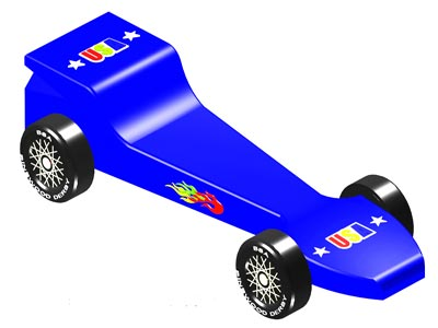 Pinewood Derby Clipart.