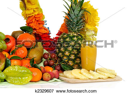 Picture of Fruit basket, pineapple juice k2329607.