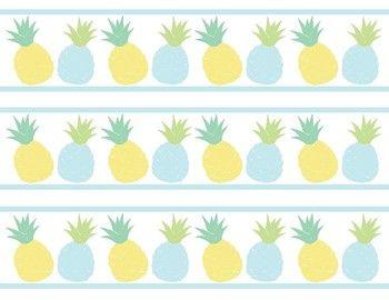Clipart pineapple borders, Clipart pineapple borders.