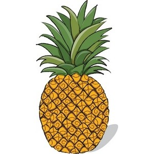 Pineapple clipart images.