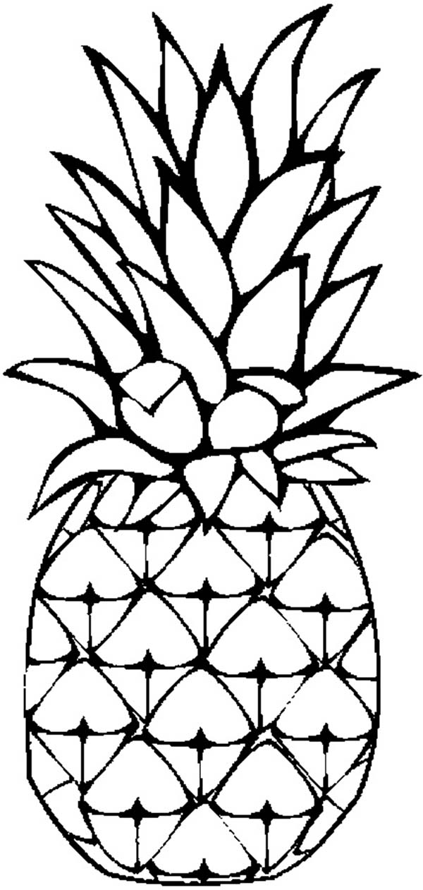 Pineapple black and white pineapple clipart black and white.