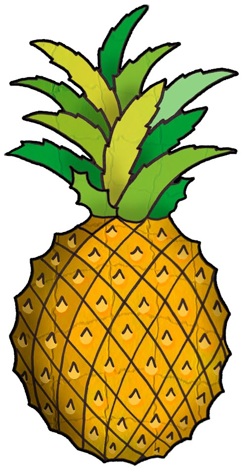 Pineapple clip art free free clipart images 2 clipartwiz.