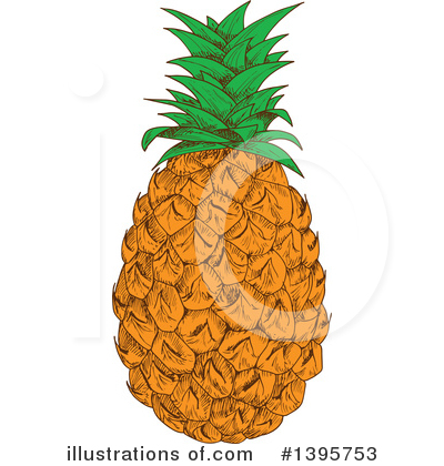 Pineapple Clipart #1395753.