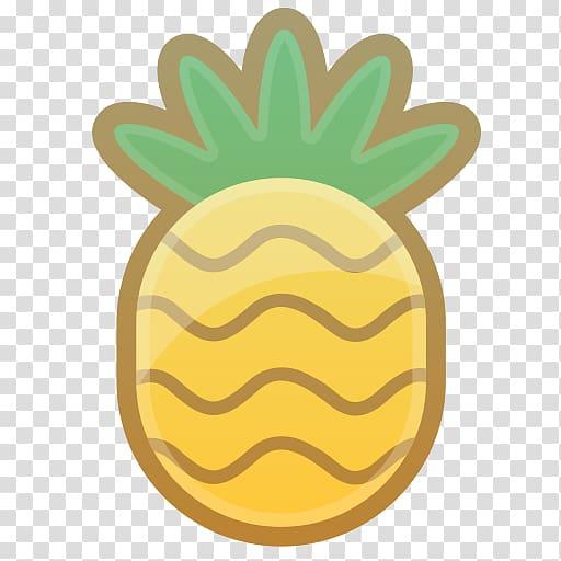 Juice Berry Fruit Pineapple Icon, Cartoon Pineapple.