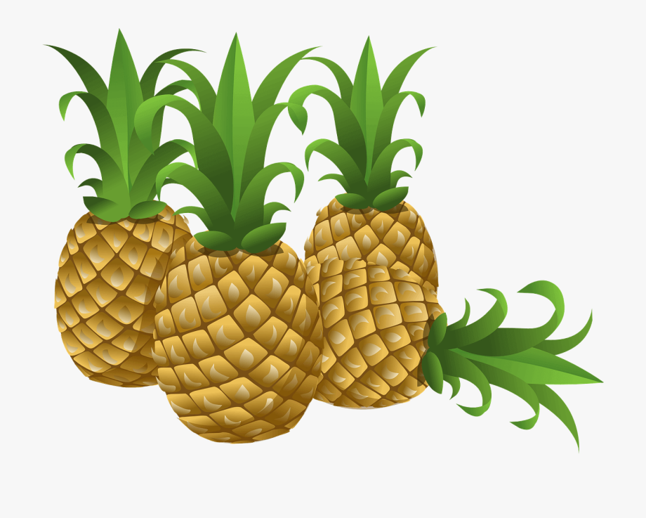 Pineapples Clipart , Transparent Cartoon, Free Cliparts.