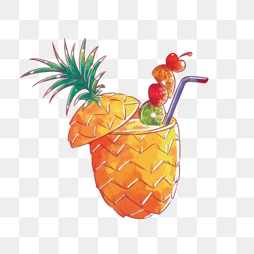 Pineapple Juice PNG Images.