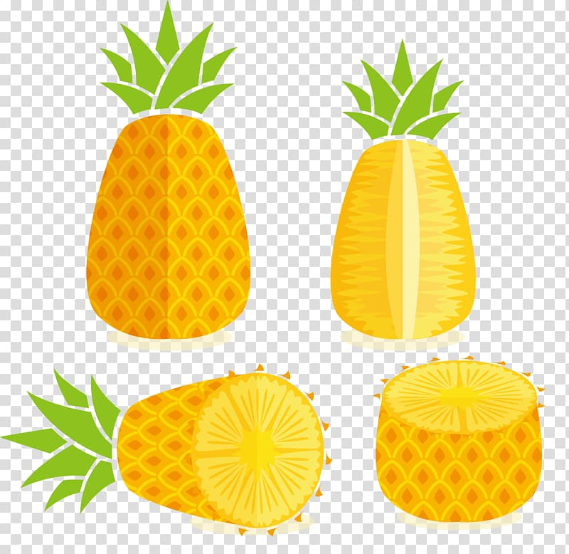 Pineapple Juice Tropical fruit , Pineapple transparent.