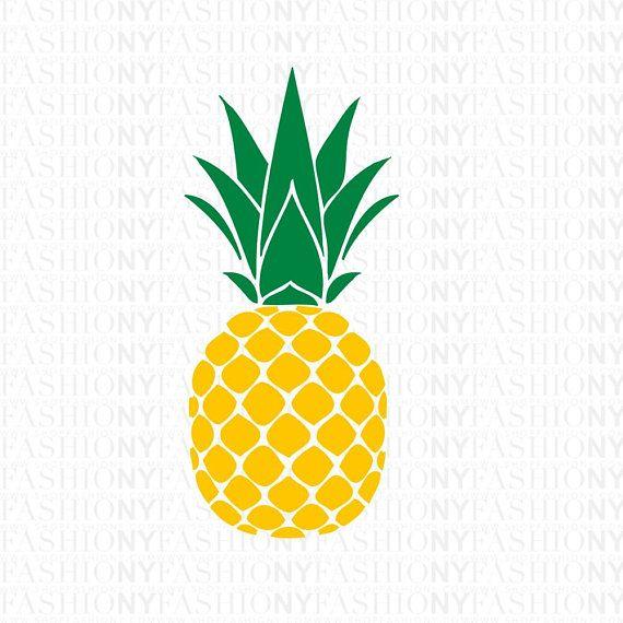INSTANT DOWNLOAD! SVG, Pineapple Monogram Frame Svg, Aloha.
