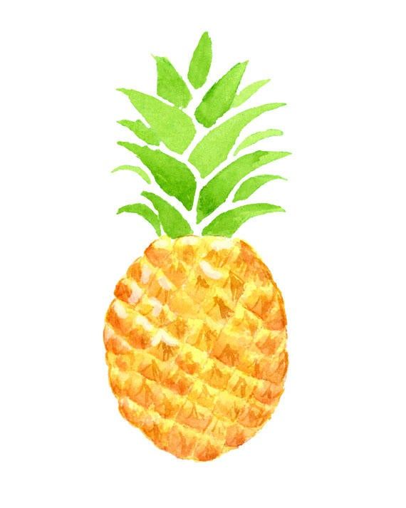 Pineapple clipart tropical, Pineapple tropical Transparent.