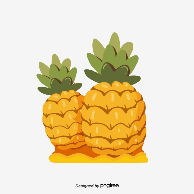 Pineapple Png, Vector, PSD, and Clipart With Transparent.