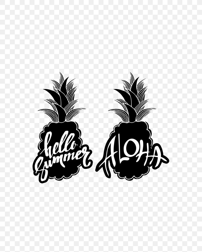 Pineapple Silhouette Fruit Clip Art, PNG, 725x1024px.