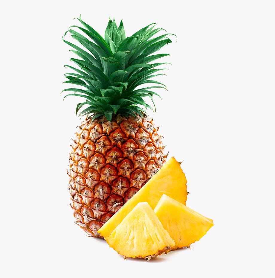 Fresh Pineapple Slices.