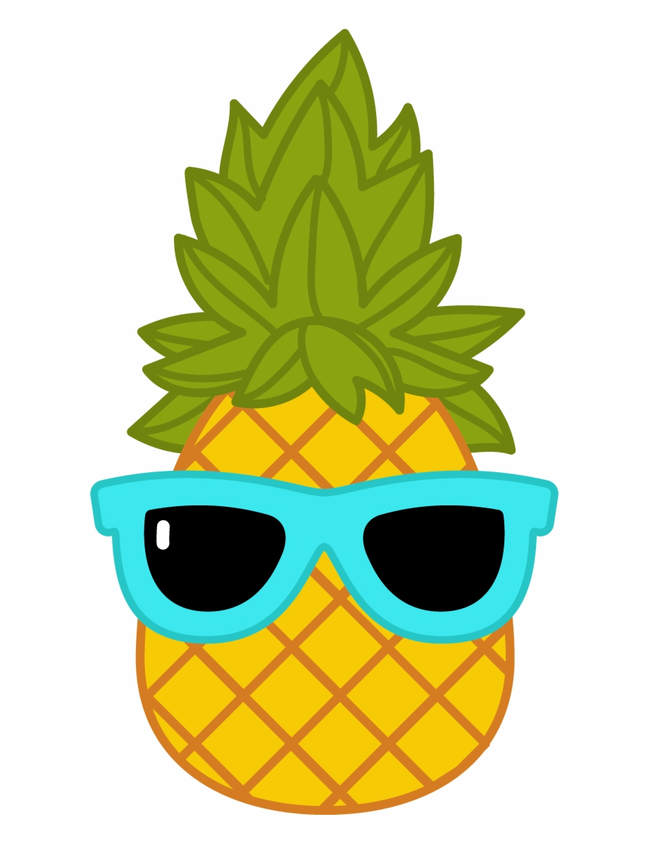 Pineapple With Sunglasses Png Free PNG Images & Clipart.