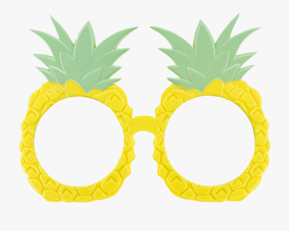 Summertime Pineapples Sticker By.