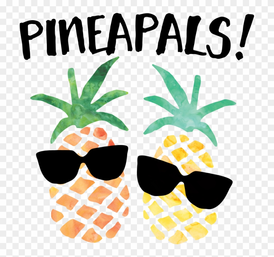 Clipart Sunglasses Pineapple.