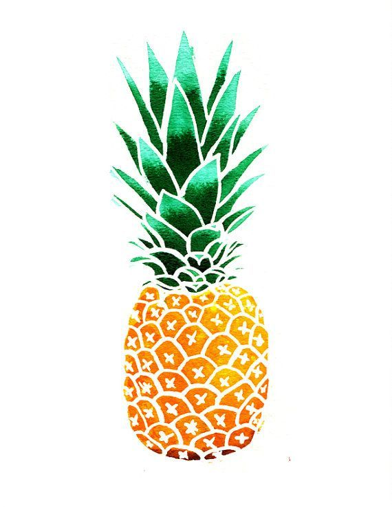 Pineapple Clipart.