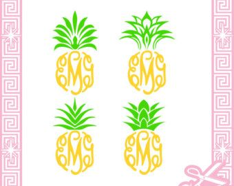 Pineapple Top Clipart Clipground