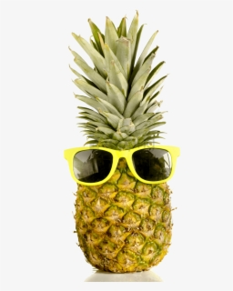 Free Pineapple With Sunglasses Clip Art with No Background.