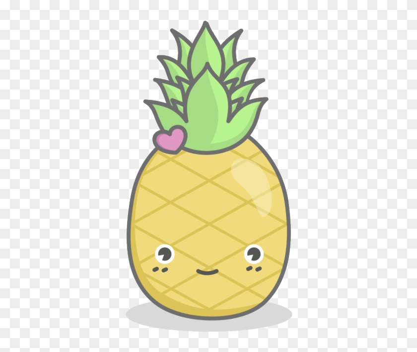 Kawaii Pineapple Clipart.