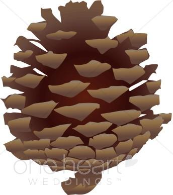 Pinecone Clip Art.