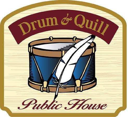Drum & Quill Logo.