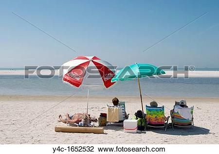 Stock Photo of North Beach at Fort Desoto Park in Tierra Verde.