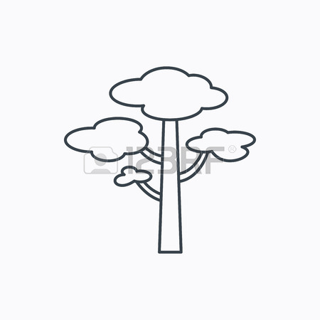 Pine Tree Icon. Forest Wood Sign. Nature Environment Symbol.