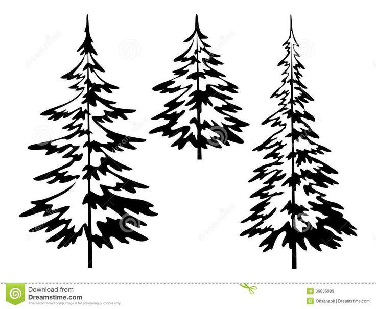 25+ best ideas about Pine Tree Silhouette on Pinterest.