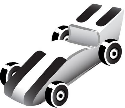 Pinewood derby car clipart 1 » Clipart Station.
