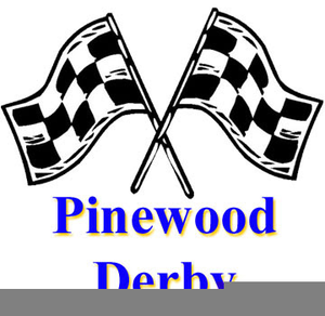 Free Cub Scout Pinewood Derby Clipart.