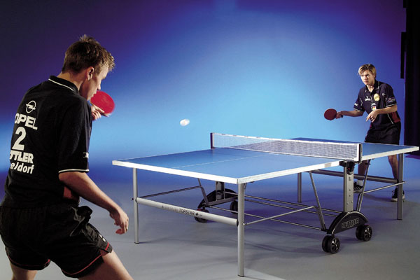 Indoor Table Tennis and Ping Pong Tables.