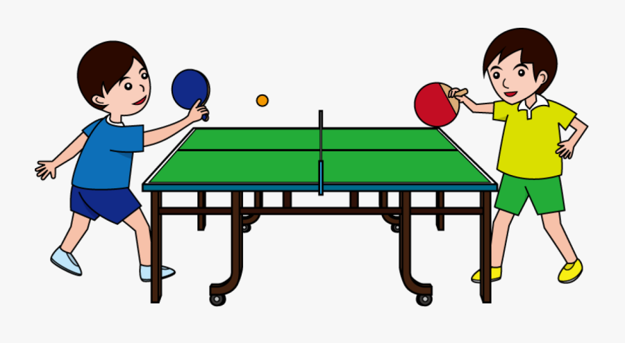 Playing Table Tennis Clipart , Free Transparent Clipart.