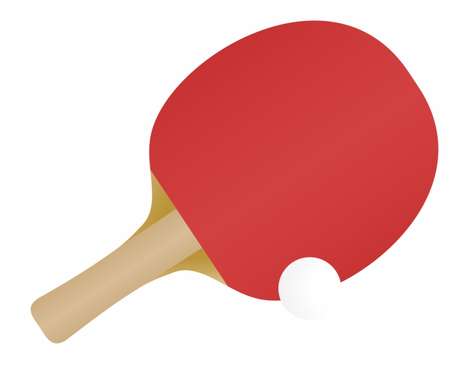 Ping Pong Paddles Sets, Racket, Ping Pong, Red Png.