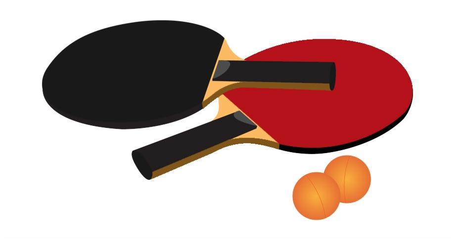 Ping Pong Racket Png Image.