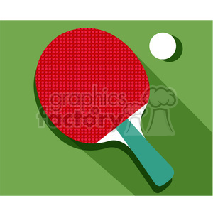 sports equipment table tennis ping pong illustration clipart. Royalty.