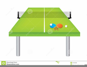 Ping Pong Table Clipart.