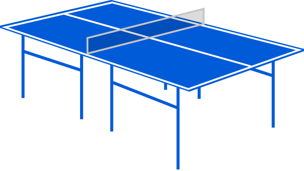 Table Tennis Table Clip Art at Clker.com.