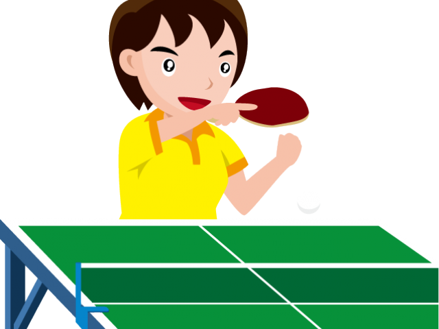 Ping Pong Clipart.