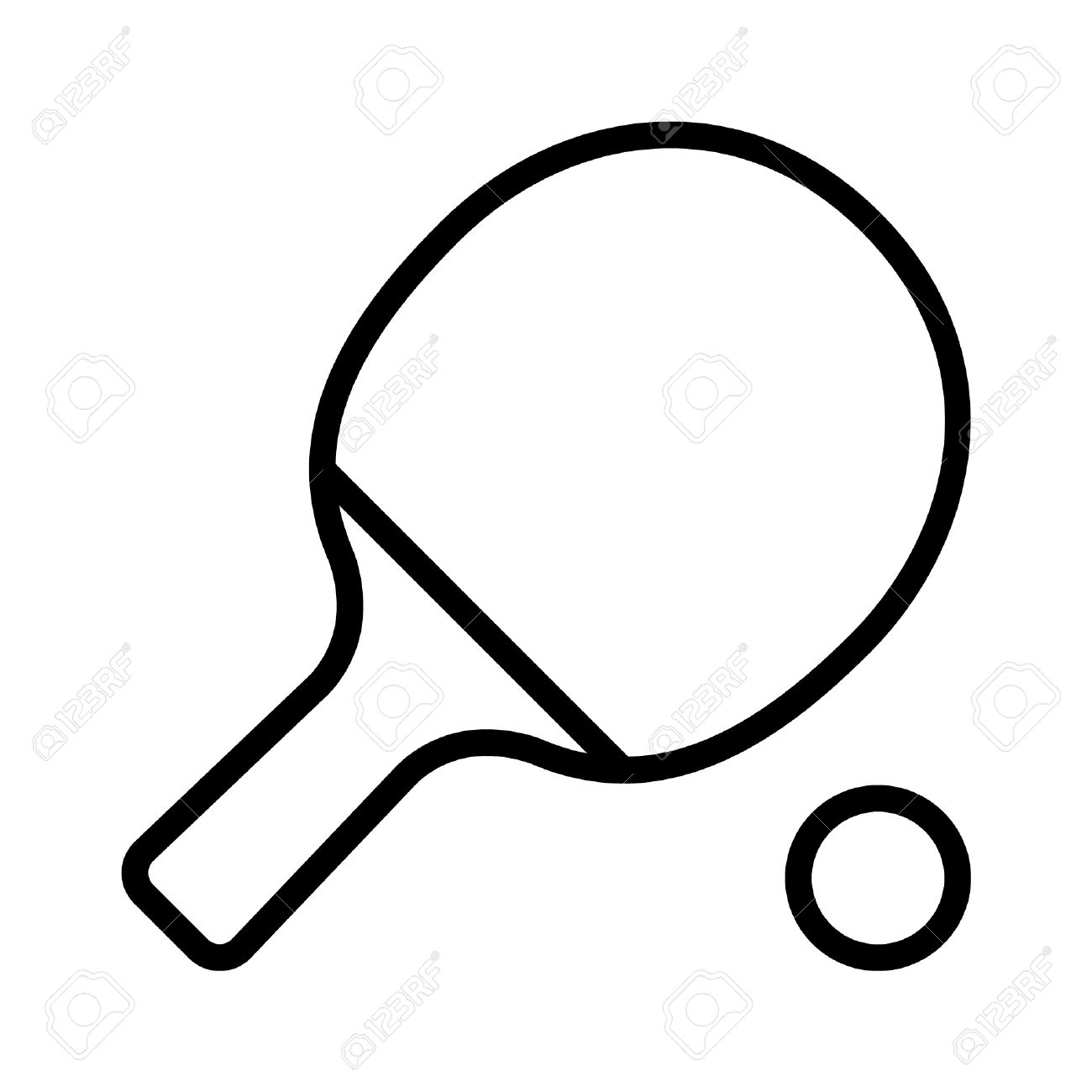Ping-pong paddle clipart 20 free Cliparts | Download ...