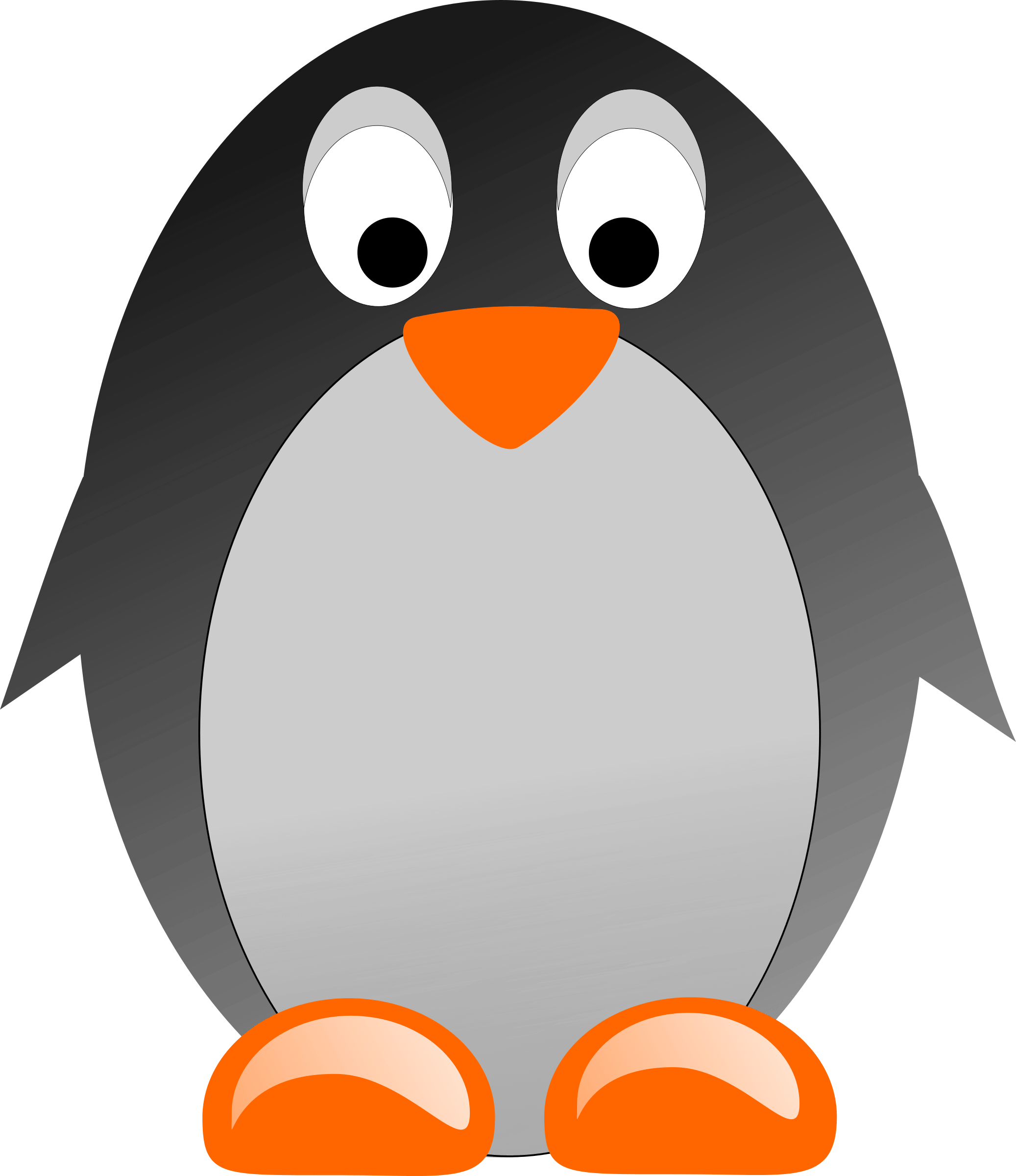 Clipart pinguino 5 » Clipart Portal.