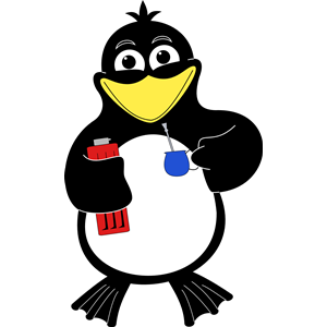 Pinguino clipart, cliparts of Pinguino free download (wmf.