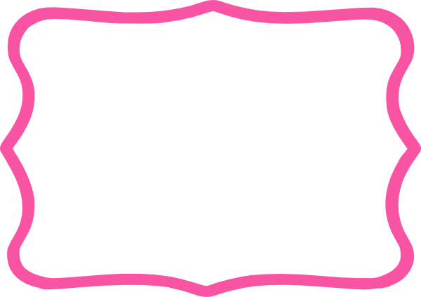 Pink and black border clipart 2 » Clipart Portal.