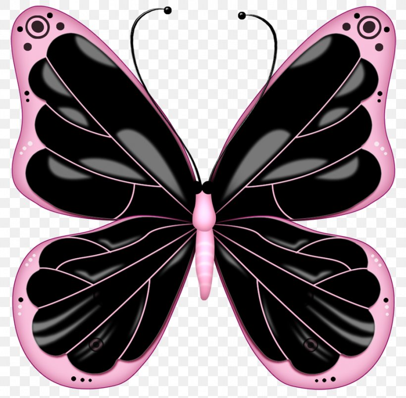 Butterfly Pink Clip Art, PNG, 933x915px, Butterfly.