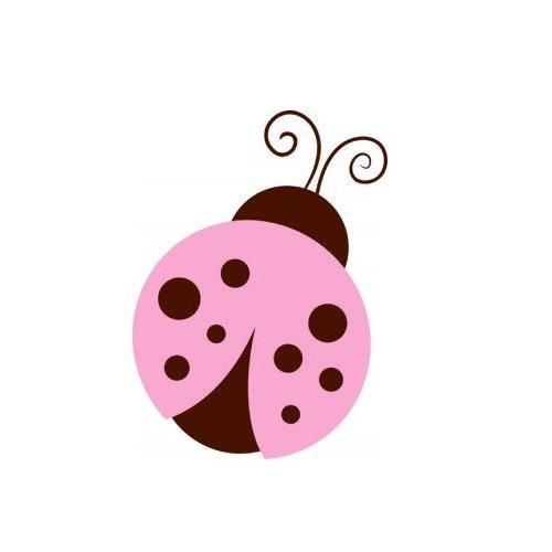 Pink Ladybug Clipart.