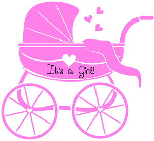 Baby Girl Pink Clipart.